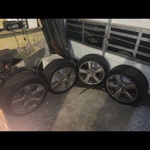 18 inch used Audi rims & tires
